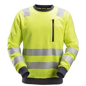 8037 Sweat shirt haute visibilité