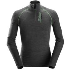 9441-T-shirt à manches longues en laine de mérinos