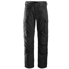 Pantalon de service avec poche pour genouillères