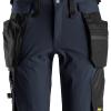 Short avec poche holter détachables bleu