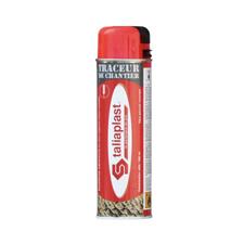 Traceur chantier rouge fluo talisplast