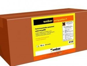 weber antigraffiti P - Vernis de protection permanent contre les grafitti
