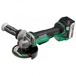 Meuleuse Ø 125 mm - 18 V 5.0 Ah Li-ion BRUSHLESS - Inter. Homme mort