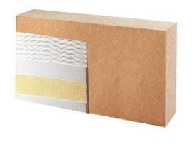 PAVAWALL®-GF - Panneau isolant monocouche support d'enduit pour ossature structurelle bois ou métal, ou ossature rapportée.