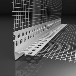 Profilé d'angle entoilé LK en PVC Likov toile 100 X 230 mm, longueur 2,50 m, paquet de 50 p, total 125 ml