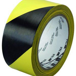Ruban de signalisation Noir et jaune Kana
